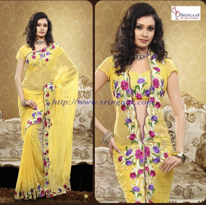 best saree blouse designs